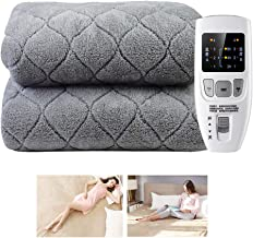 Super Soft Electric Blankets Double Bed Dual Control, Intelliheat Heat Pad King Size, Warm-Up Blanket With Digital Remote,...