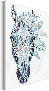 Revolio 30x40 cm Impression sur Toile Murale Tableau Art Peinture Image MotifModerne Décoration pour Le Salon Intérieur P...