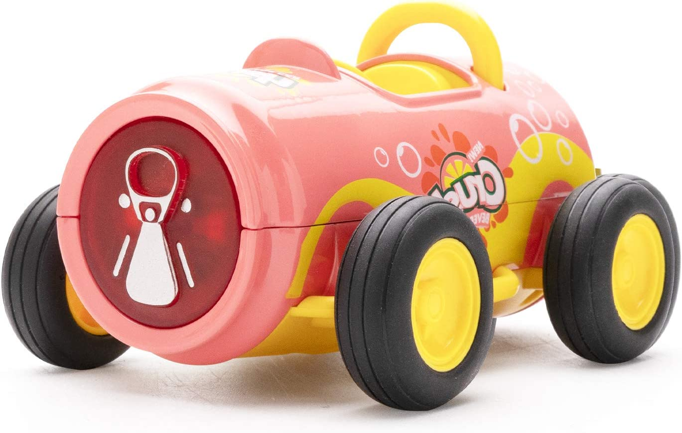 Toy Cars for 2-7 Year Old Boys Creative Decorative Models of Pull Back Vehicles Drink with Sound and Light for Children Girls and Boys. Red Pull Back Toy Cars