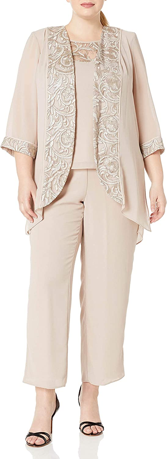 Le Bos Women's Ranking TOP6 Embroidered Trim Don't miss the campaign Jacket Long Set Pant