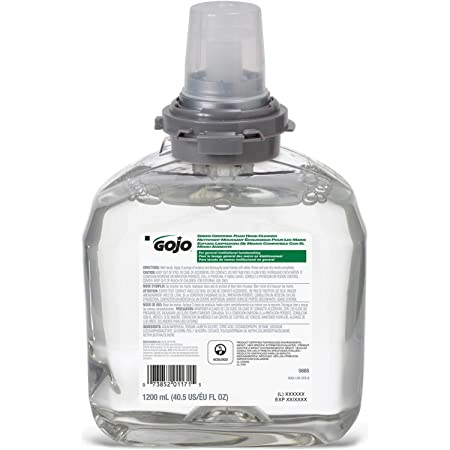 LOT OF 2 BOARDWALK GREEN CERTIFIED FOAM SOAP REFILL 1200ML EXP 10//2022