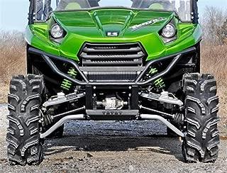 Super ATV Kawasaki Teryx 4 High Clearance Forward Offset Front A-Arms (Black)