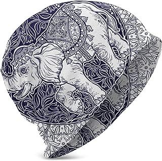 Cainy Hermoso Tatuaje Elefante de Estilo Tribal Dentro de Mandala ...