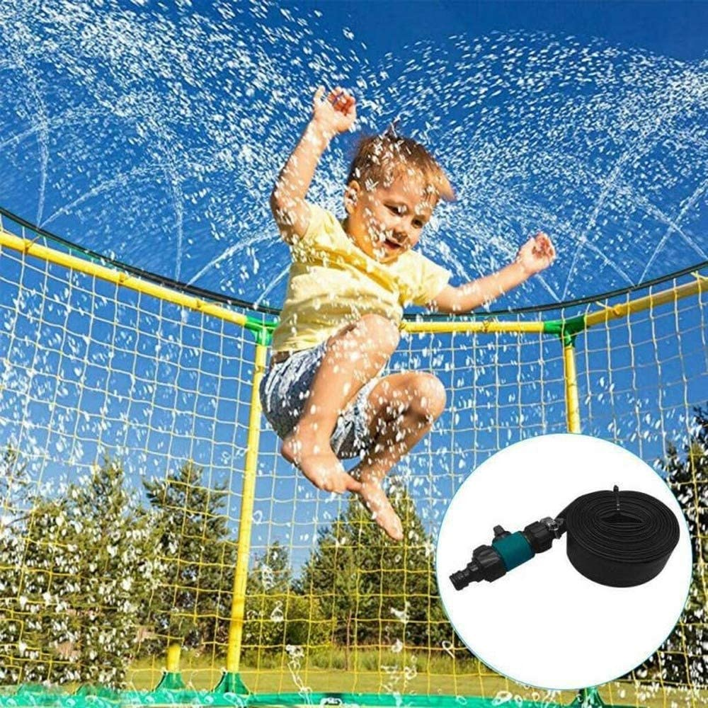 SUNTON Trampoline Water Play Cheap mail order sales Sprinklers Kids Girls Boys San Diego Mall Fun for
