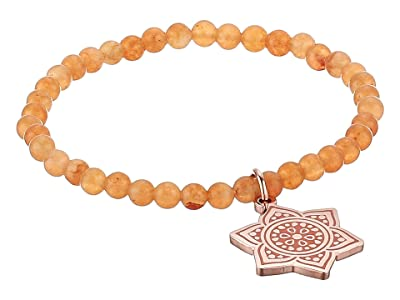 Alex and Ani Chakra Stretch Bracelet (Rose Gold/Sacral Chakra) Bracelet