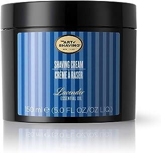 The Art of Shaving Lavender Shaving Cream for Men - The Perfect Gift, Mens Beard Care, Protects Against Irritation and Raz...