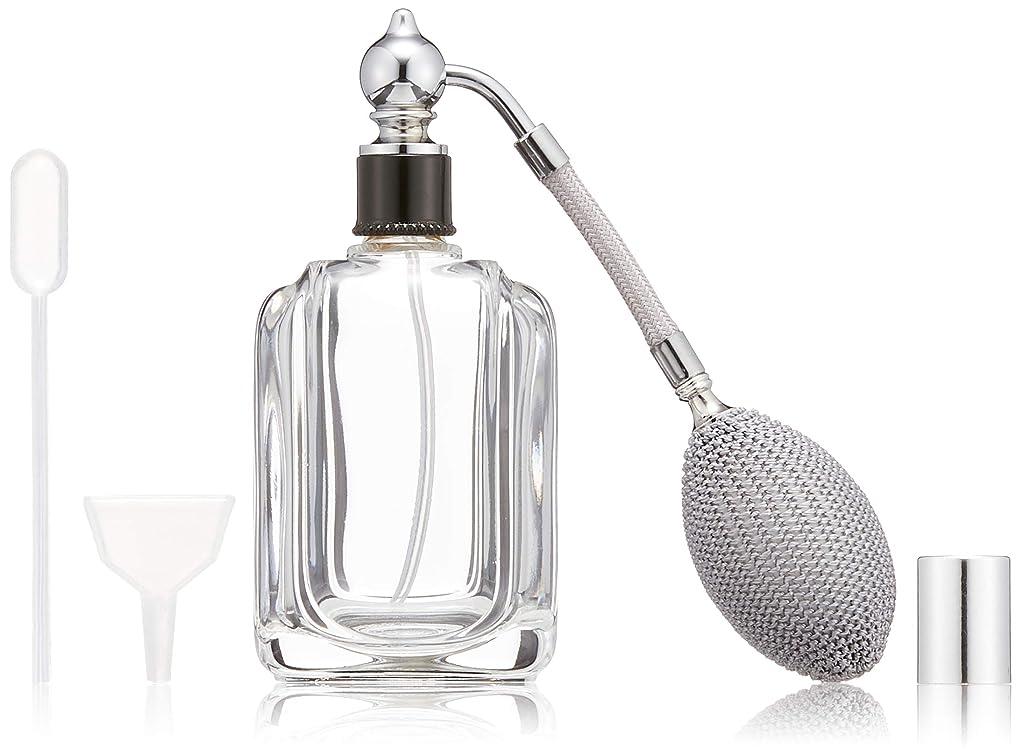 電話要塞ふさわしいヒロセアトマイザー フランス製香水瓶50ML メンズアトマイザーkuro 409873SS (50MLタクジョウ) CLSS