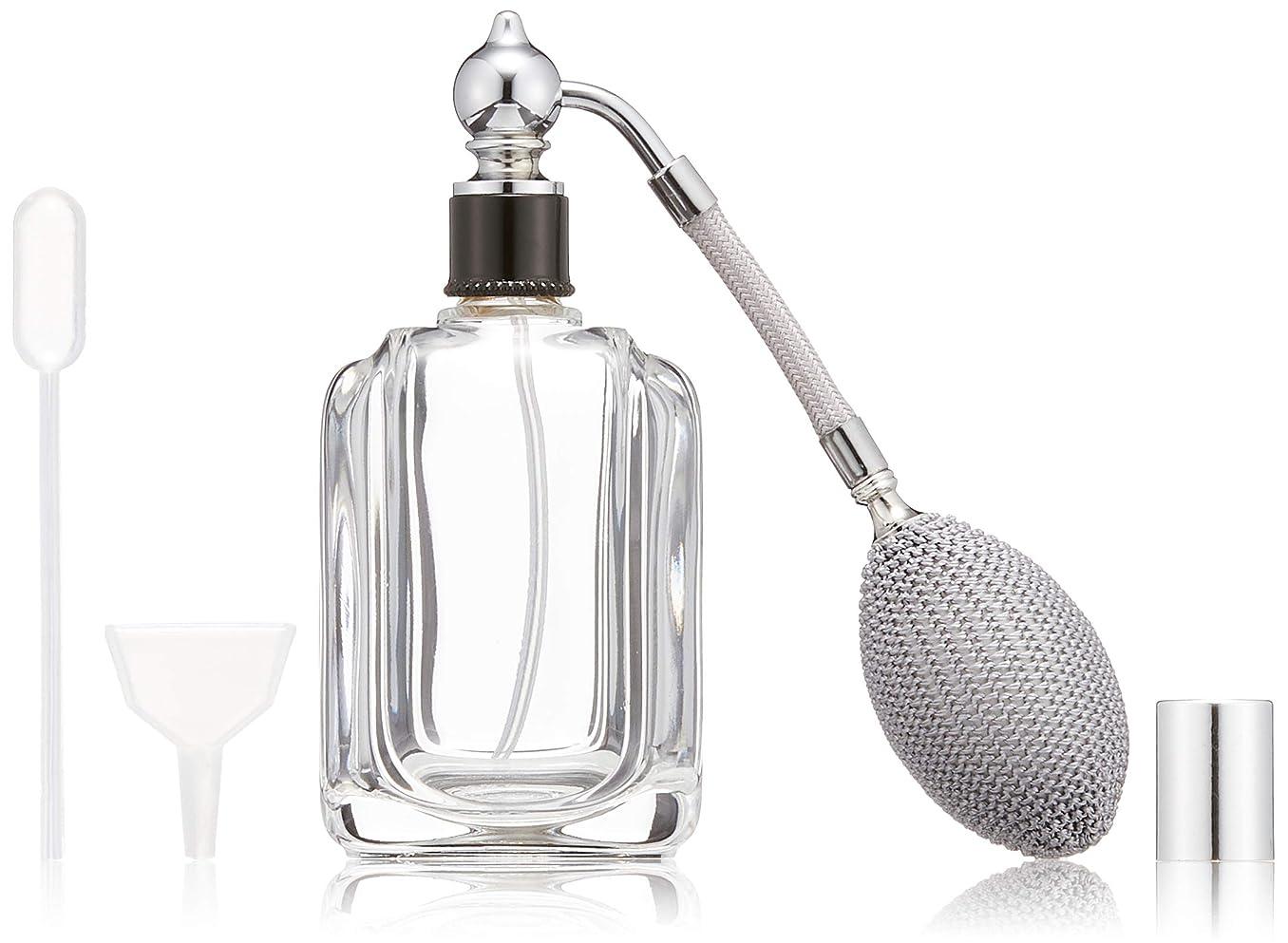 ましい部お父さんヒロセアトマイザー フランス製香水瓶50ML メンズアトマイザーkuro 409873SS (50MLタクジョウ) CLSS