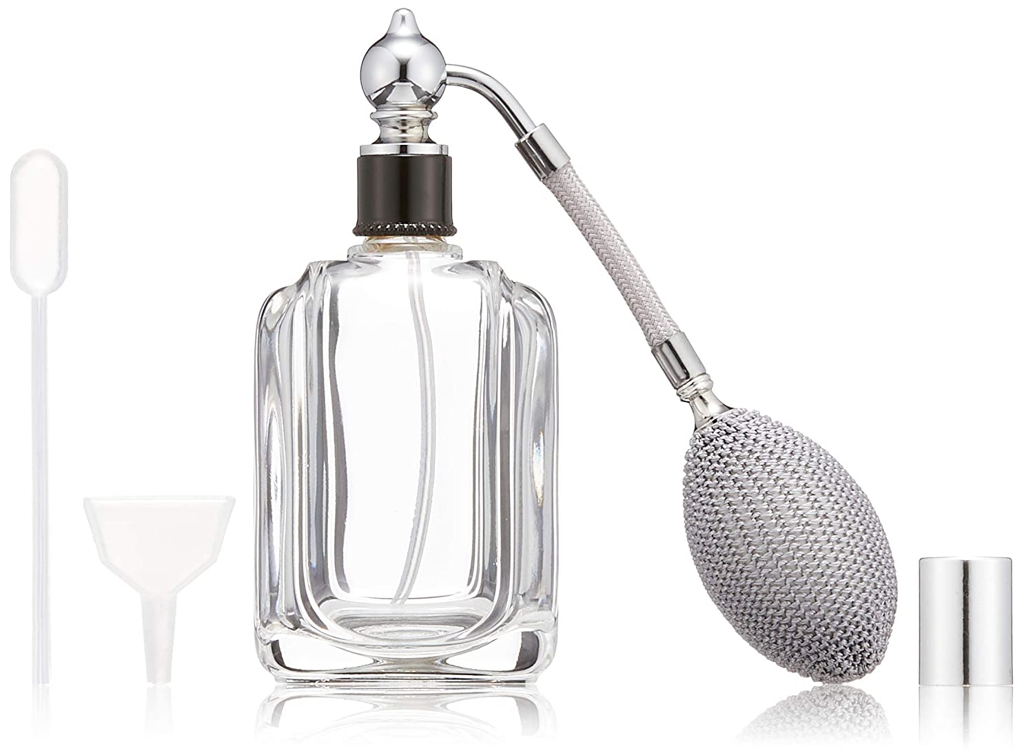 見落とす詐欺師哀れなヒロセアトマイザー フランス製香水瓶50ML メンズアトマイザーkuro 409873SS (50MLタクジョウ) CLSS