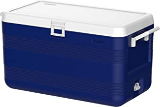 نوفر صندوق حافظ للبرودة مصنوع من البلاستيك من كوزموبلاست لحفظ الثلج بسعة 70 لتر.