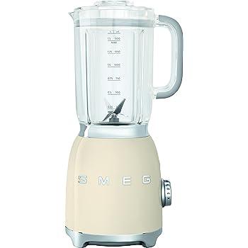 Smeg Batidora BLF01PGEU, 800 W, 1.5 litros, Aluminio, 4 ...