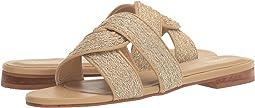 Santorini Metallic Yute Infinity Sandal
