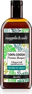 Nuggela & Sulé 100% Green Shampoo. 250ml / 8.45FL.Oz. - Suitable for vegans. A powerful union of natural active ingredient...