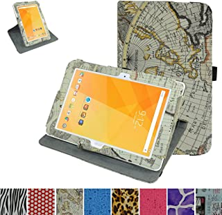 Acer Iconia One 10 B3-A20 Rotating Case,Mama Mouth 360 Degree Rotary Stand with Cute Cover for 10.1