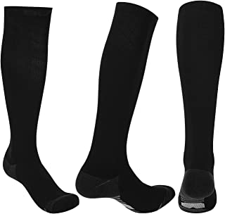 Sumee Graduated Compression Socks for Men Women (20-30 mmHg) Best Athletic Fit for Nurses, Travel, Running, Maternity Pregnancy, Varicose Veins, Medical, Blood Circulation, Leg Recovery