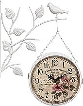 ساعة حائط معدن بدون منبه ، انالوج - بطارية AA