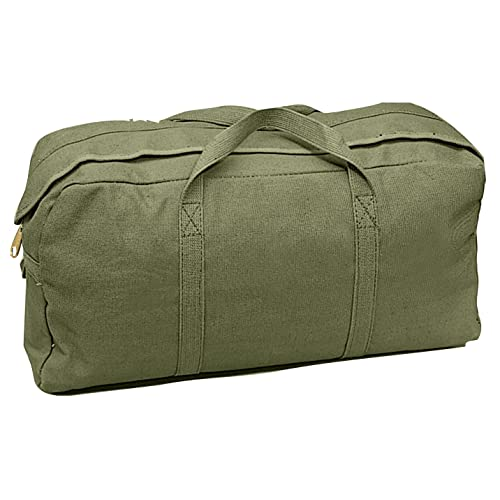 e2c88d2b8 Rothco Canvas Tanker Style Tool Bag, Green