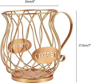 Design moderne Capsule de café Banque de rangement universel Coupe de café Panier Vintage Café Pod Organisateur Porte-orga...
