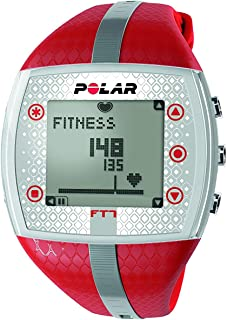 Polar FT7 Heart Rate Monitor (Renewed) (Red/Silver)