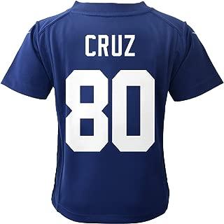 Nike Kids Boys New York Giants Victor Cruz #80 Game Jersey, Blue