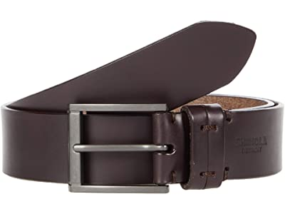 Shinola Detroit 1 1/2 Double Keeper Belt (Brown) Men