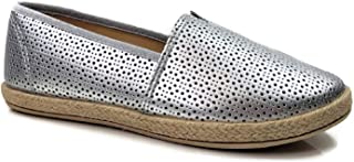 Steven Ella Lauren Comfort Slip-On Espadrille Close Toe Flats