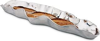 Arthur Court Carmel Collection Signature Aluminum Baguette Bread Tray 24