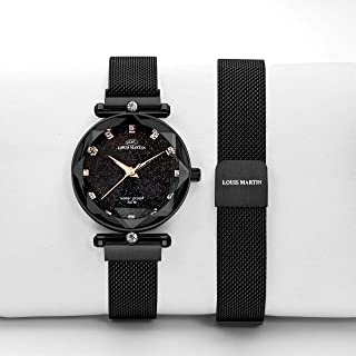 Louis Martin Casual Watch For Women Analog Stainless Steel - T976