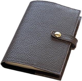 maf pinto (マフ ピント) 手帳カバー&ブックカバー レザー 本革 日本製 (62.チョコレート, A6サイズ (文庫サイズ) ADRIA LINE)