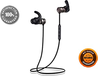 Bluetooth Headphones Wireless Sports MiS LifeStyle | Up To 9.5 Hours of Music Time Magnetic earphones with Mic APX Neckban...