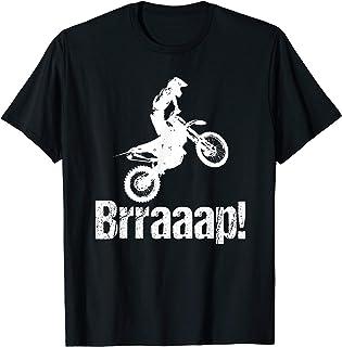 تی شرت خنده دار دوچرخه خراش Brraaap خنده دار برای سواران