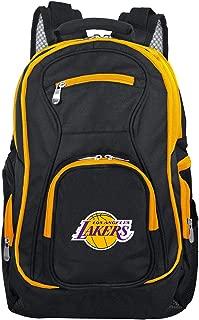 Denco NBA Colored Trim Premium Laptop Backpack, 19-inches