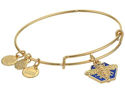 Alex and Ani Charity By Design, Color Infusion Honey Bee Bangle Bracelet (Gold) Bracelet