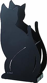 山崎実業 傘立て ネコ ブラック 2359