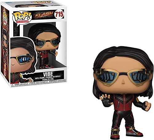 ( Limited Edition Pop Television: The Flash - Vibe Collectible Figure, Multicolor