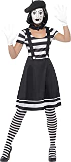 ladies mime costume