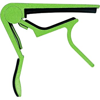 Guitar Capo for Acoustic and Electric Guitars with 6 String Aluminum Material Acoustic Electric Tools Colorful-Green