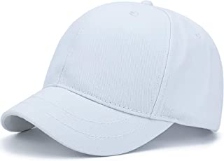Rayna Fashion Structured Short Bill Hat Plain Short Brim Hat Trucker Baseball Dad Cap