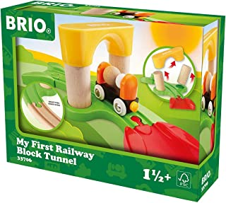 Brio 33706 My First Railway Block Tunnel Baby Toy - Multi Color