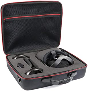 KT-CASE Oculus Quest Case Oculus Quest All-in-one VR Gaming Headset Storage Box Travel Case (Black)