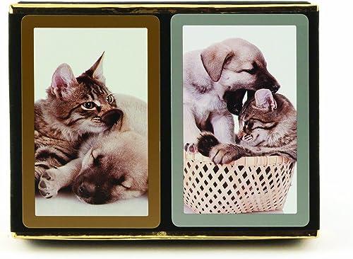 disfruta ahorrando 30-50% de descuento Congress Tarjetas de Juego para Gatos y Perros (Paquete de de de 2)  garantía de crédito