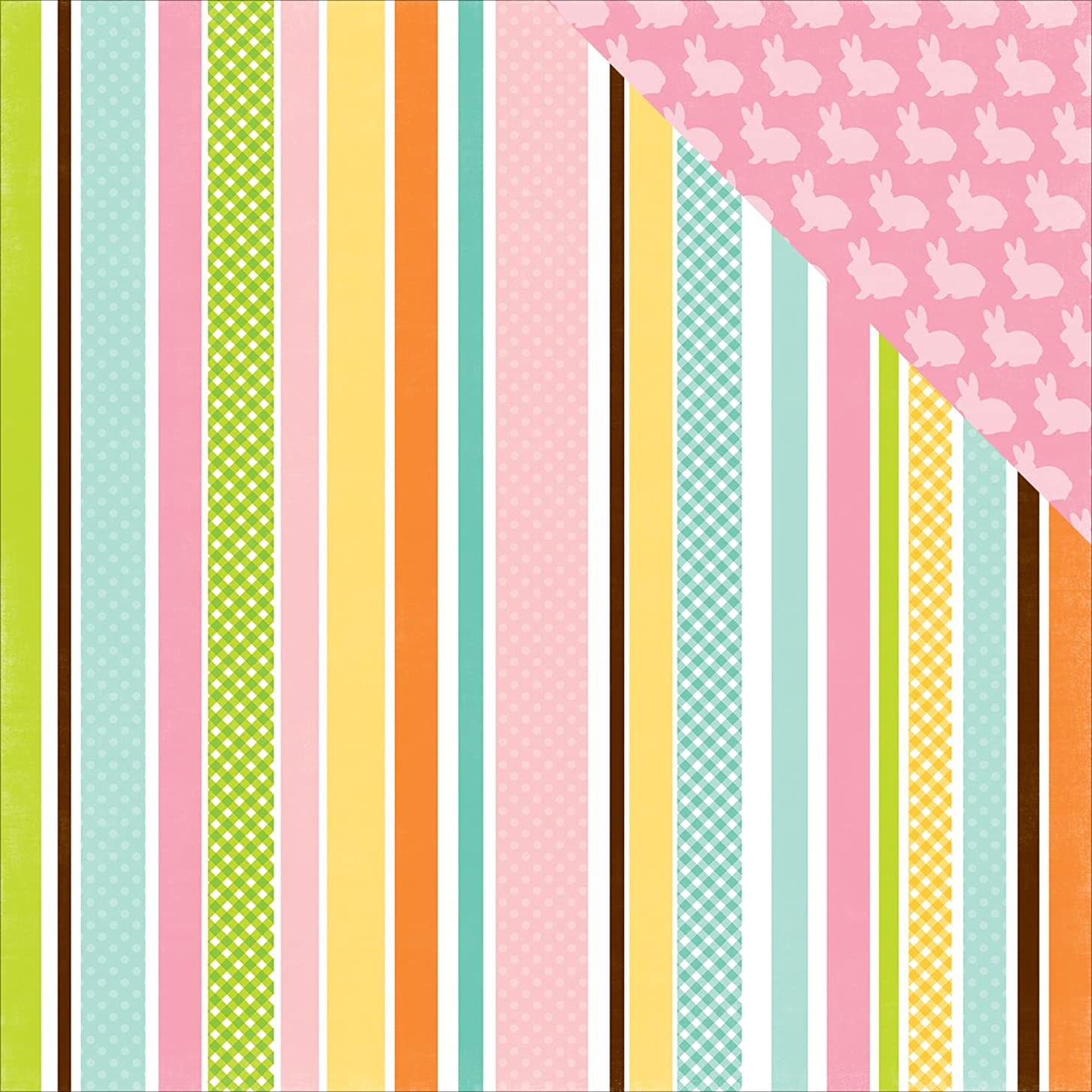 Echo Park Paper EA100004 Double-Sided Cardstock (25 Sheets Per Pack), 12