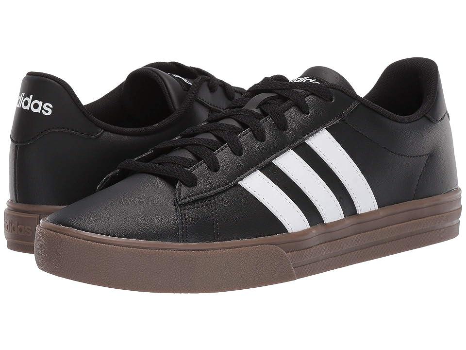 adidas Daily 2.0 (Core Black/Footwear White/Gum 5) Men