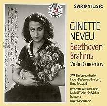 Beethoven Brahms Violin Concertos