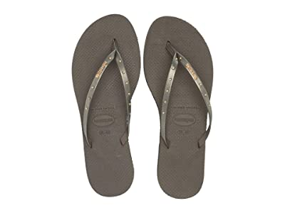 Havaianas You Maxi Sandal (Dark Khaki) Women