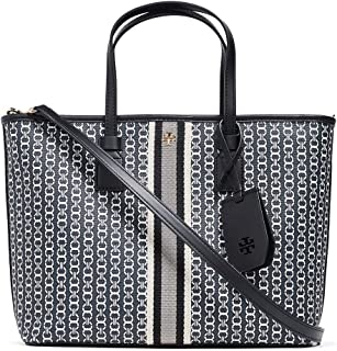 Tory Burch Womens Tote Bag, Black Gemini Link - 53304