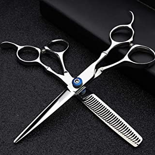 Hair Cutting Scissors, Kit Professional Hairdressing Scissor Hair Scissors Hair Straight Thinning Scissors Barber Salon To...
