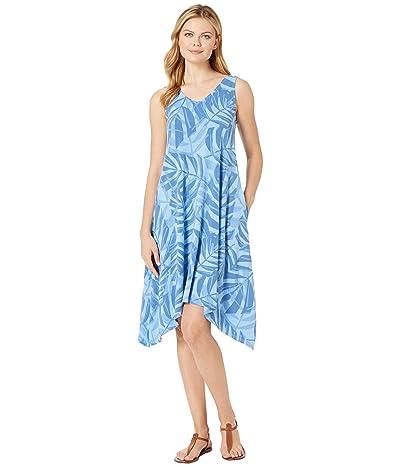Fresh Produce Palawan Palms Lydia Dress (Bayside Blue) Women