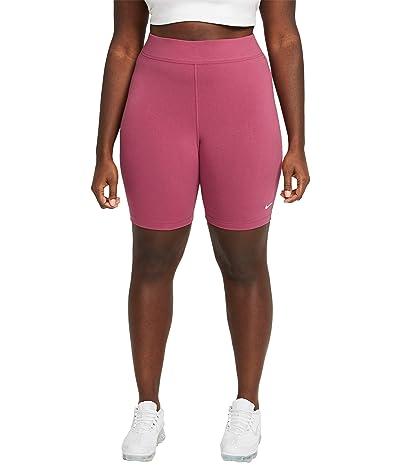 Nike Plus Size NSW Essential Bike Shorts LBR Mid-Rise