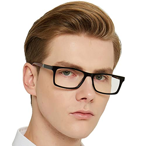 a7d28e70796 OCCI CHIARI Optical Eyewear Non-prescription Fashion Glasses Eyeglasses  Frame with Clear Lenses for Men